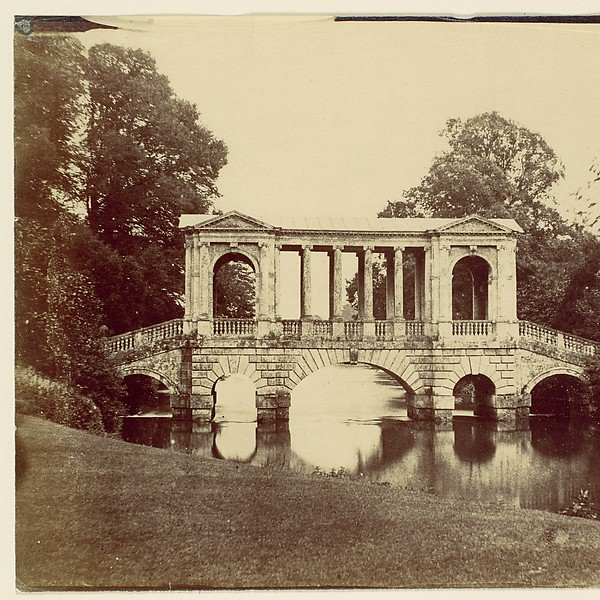 [Wilton House with Palladian Bridge by Morris]
