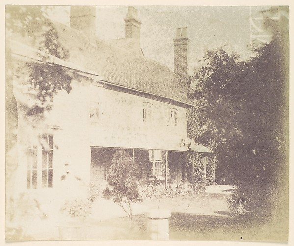 Fascinating Historical Picture of Unknown with [House with Three Chimneys] in 1850