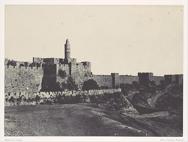 Palestine. Jérusalem. Partie occidentale des Murailles
