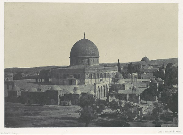 Palestine. Jérusalem. Mosquée d'Omar