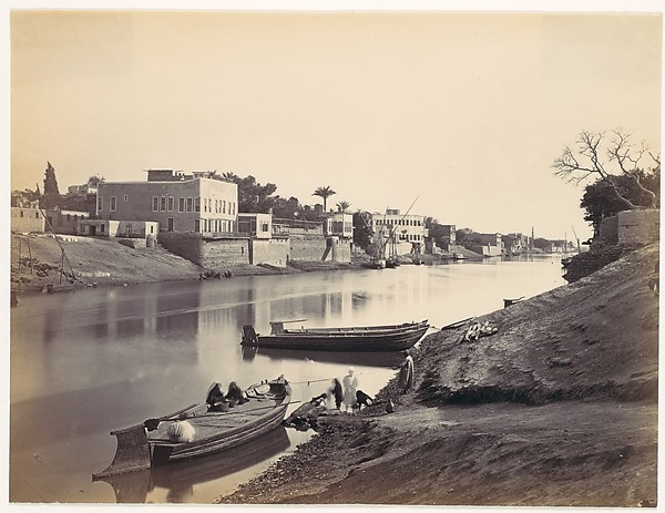 Banks of the Nile at Cairo