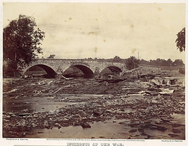 Antietam Bridge, On the Sharpsburg and Boonsboro Turnpike, No. 2, September 1862