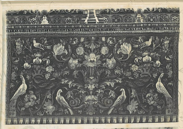 [Needlework Altar Cloth, Durham]