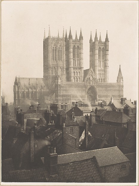 Lincoln Cathedral: From the Castle