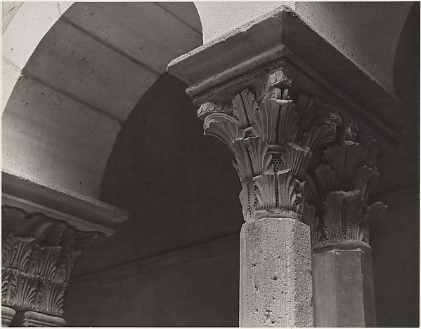 [Capitals from St. Guilhem Cloister, French, XII c.]