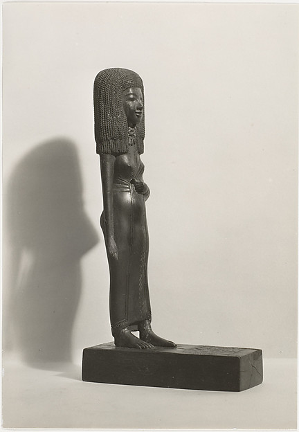 [The Lady Teye, Egyptian Statue]