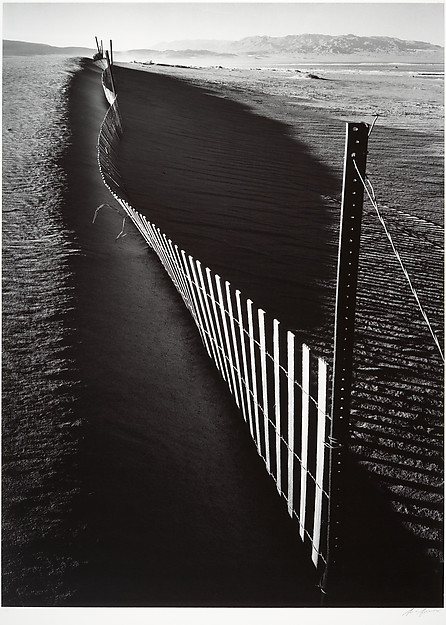 Sand Fence, Keeler, California