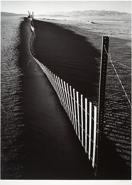Sand Fence, Keeler, California
