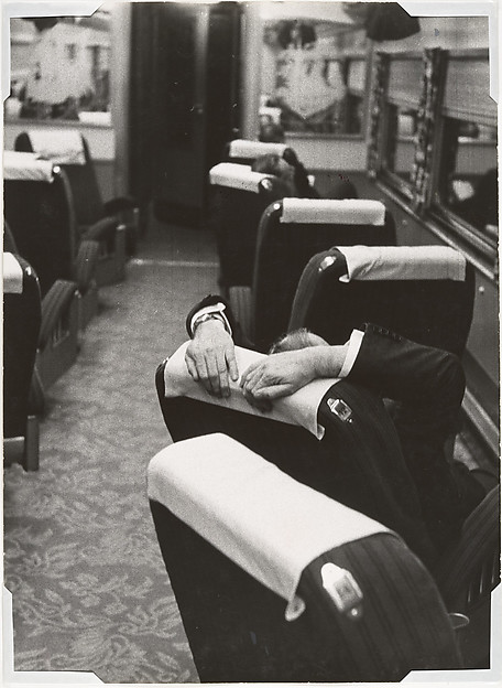 [Man Resting Aboard the Congressional Limited]