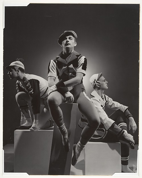 "Fred Danieli, Eugene Loring and Lew Christensen in ""Showpiece"""
