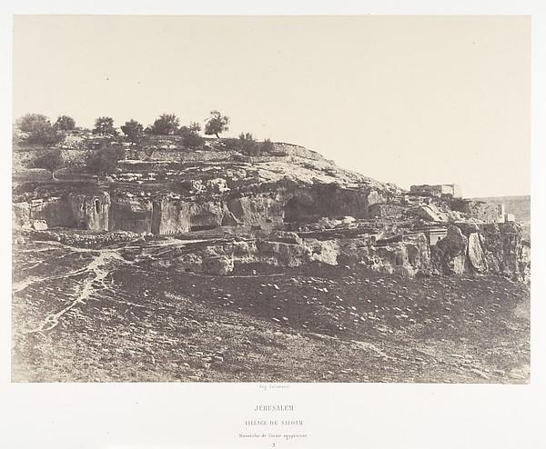 Jérusalem, Village de Siloam, Monolithe de form égyptienne, 3