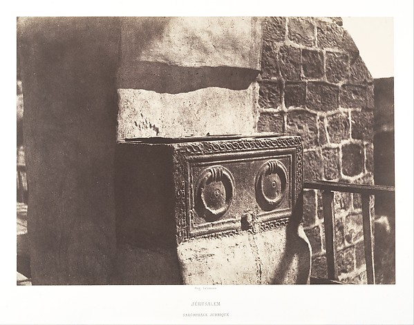 Jewish Sarcophagus, Jerusalem