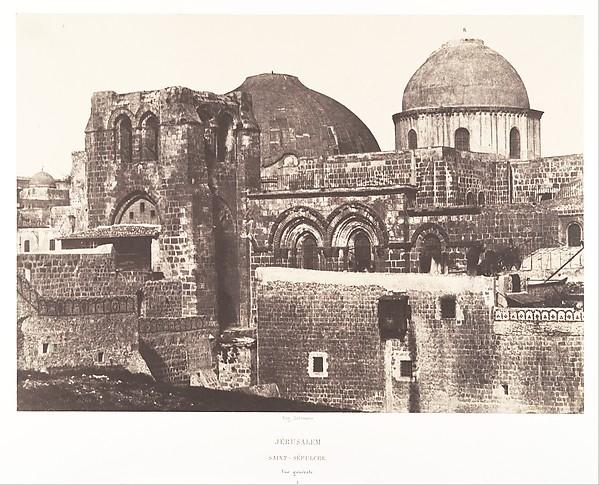 Jérusalem, Saint Sépulcre, vue générale, 2