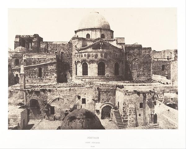 Jérusalem, Saint Sépulcre, abside