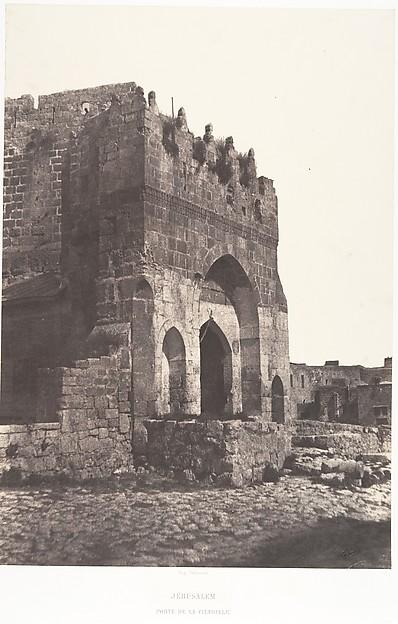 Jérusalem, Porte de la citadelle