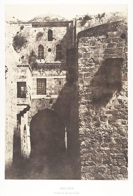 Jérusalem, Maison du mauvais riche