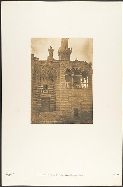 Entrée du Tombeau de Sultan Bezkouk, au Kaire
