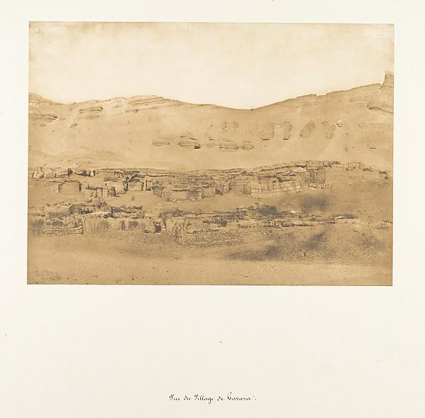 Vue du Village de Garara