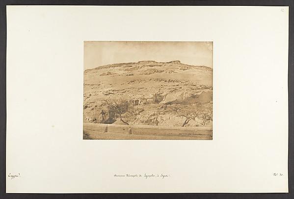 Ancienne Nécropole de Lycopolis, à Syout