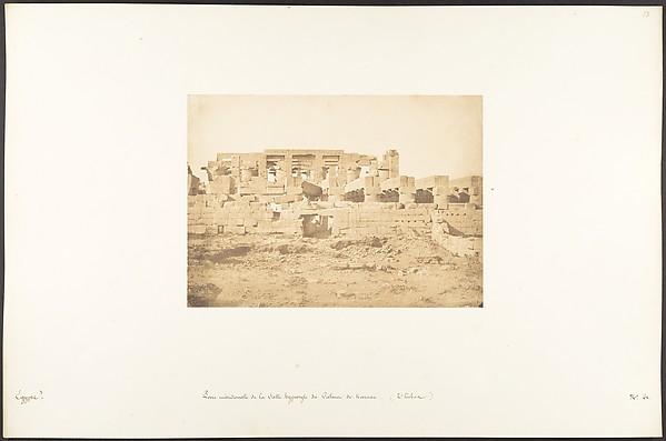 Porte méridionale de la Salle Hypostyle du Palais de Karnac (Thèbes)