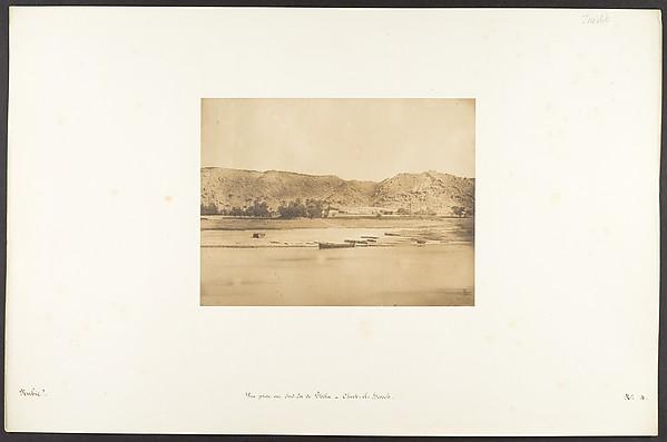 Vue prise au Sud-Est de Philae - Cherk-el-Hesseh
