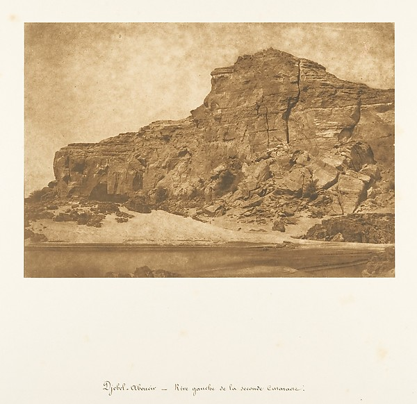 Djebel-Aboucir - Rive gauche de la Seconde Cataracte