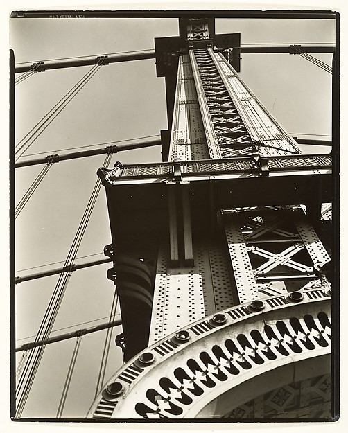 Manhattan Bridge, Looking Up