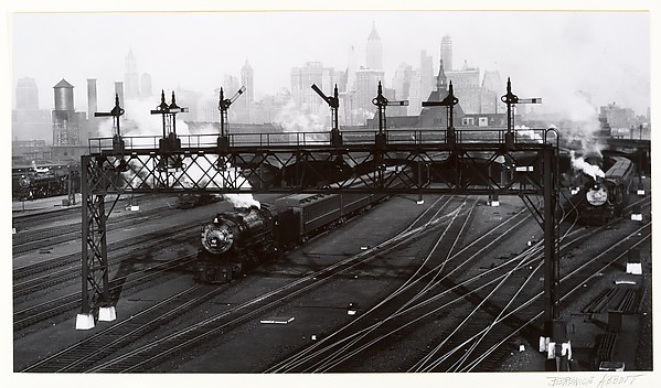 [Railroad Yard, New York City]