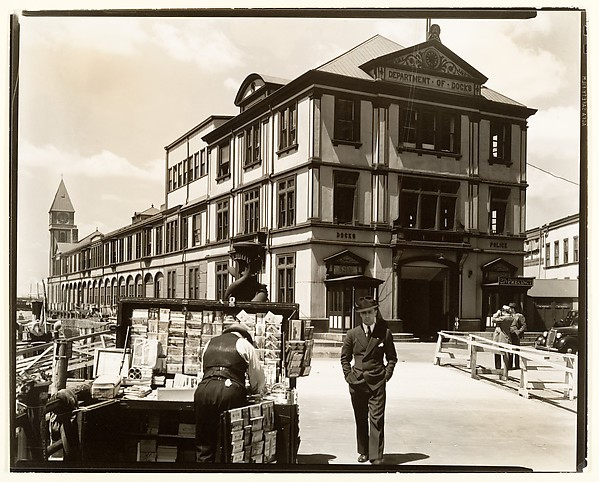 [Department of Docks and Police Station, Pier A, North River]
