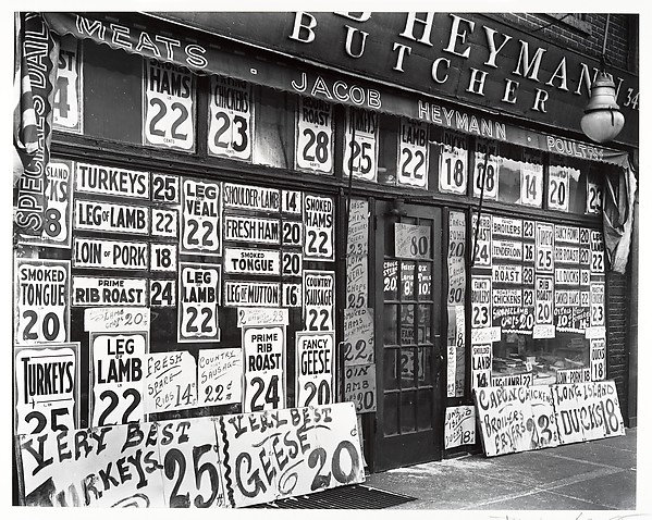 [Joseph Heyman Butcher Shop, 345 Sixth Avenue]