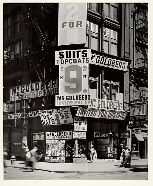 [Wm. S. Goldberg Store, N.Y.]