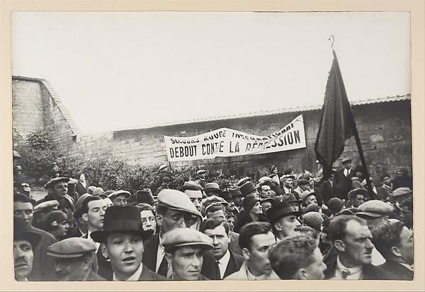 Demonstration at the Communards' Wall, Père Laçhaise, Paris