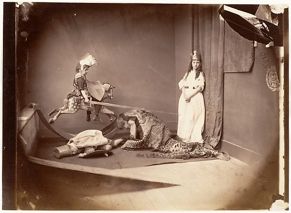 This is What Lewis Carroll and St. George and the Dragon Looked Like  on 6/26/1875