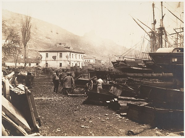 Landing Place, Ordnance Wharf, Balaklava