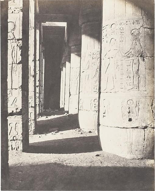 Médînet-Abou (Thèbes), Constructions Postérieures - Deuxieme Cour - Galerie Nord-Ouest