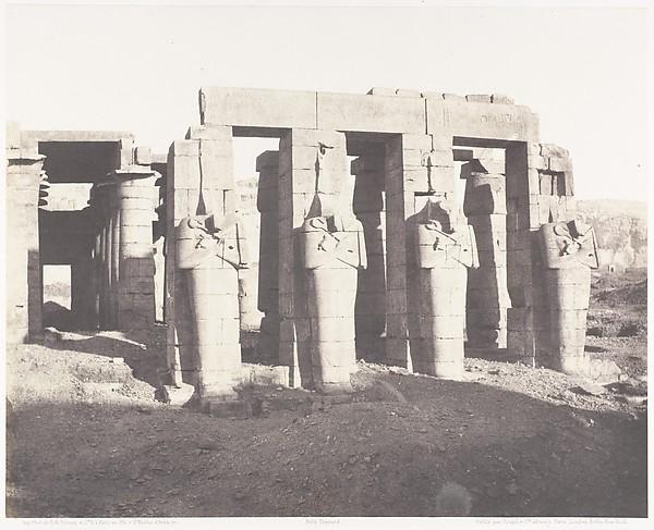 Gournah (Thèbes), Palais Dit le Memnonium