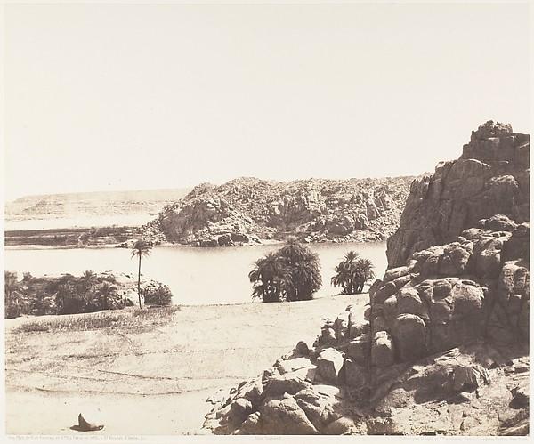 Tâfah, Rochers Granitiques sur les Rives du Nil