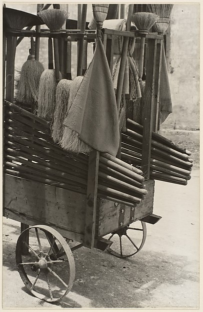 Broom Vendor, Cuba
