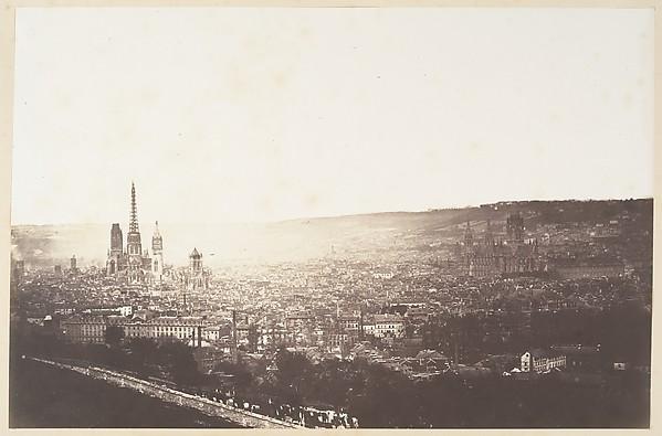 Vue générale de Rouen