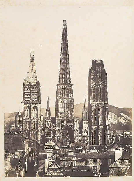 Vue générale de la Cathédrale de Rouen