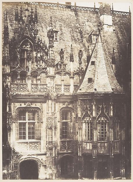 Fragment du Palais de Justice, Rouen