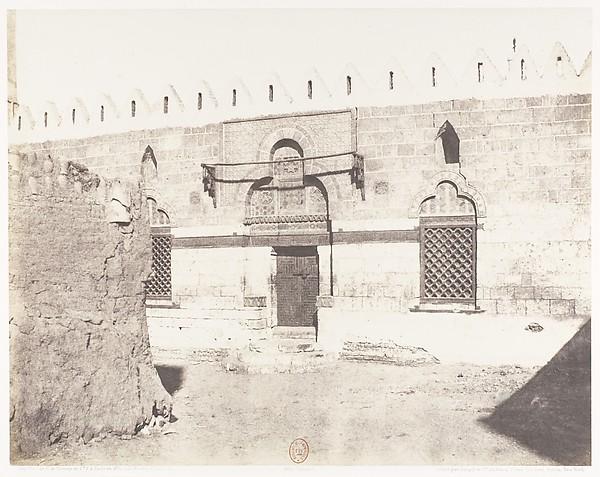 Souâdj, Tombeau de Mouràd-Bey - Entrée de la Mosquée