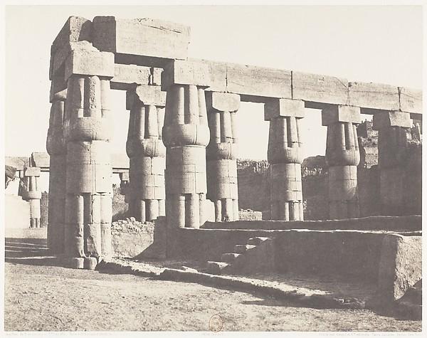 Louksor (Thèbes), Construction Postérieure - Galeries Parallèles