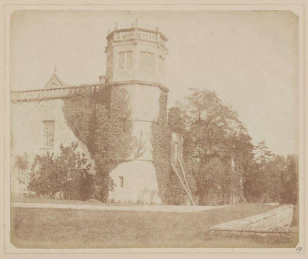 The Tower of Lacock Abbey