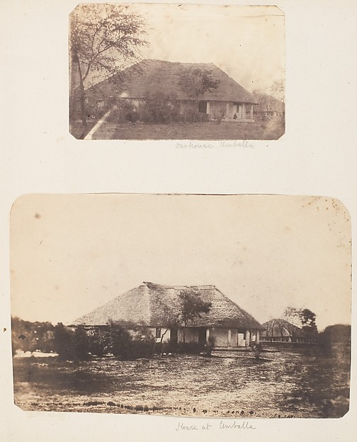 This is What Unknown and Our House at Umballa Looked Like  in 1850