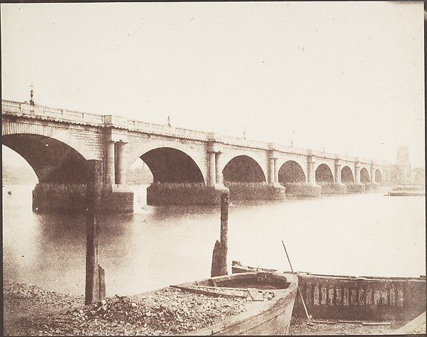 Old Waterloo Bridge, London