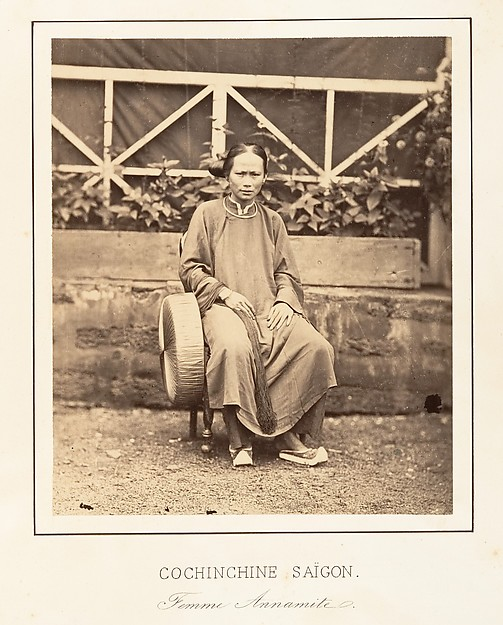 Femme Annamite, Saïgon, Cochinchine