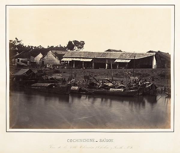 Vue de la Ville Chinoise (Cholen) Feuille No. 2, Saïgon, Cochinchine