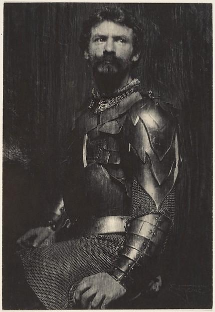 The Man in Armor (Self-Portrait)