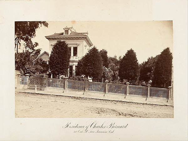 Residence of Charles Bernard. 312 Oak Street, San Francisco, California